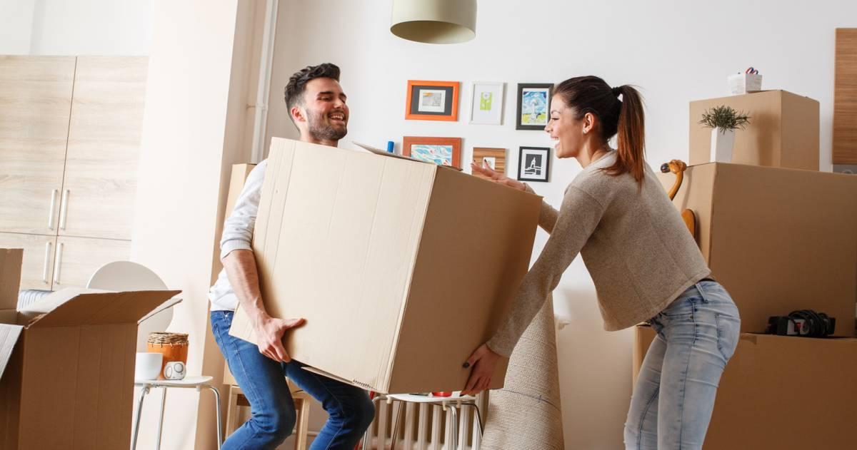 Verhuizen naar eerste woning